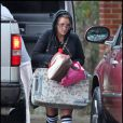 Jamie Spears fait une promenade dans Kentwood, en voiture, avec sa fille Jamie Lynn Spears, et sa petite-fille Maddie, 2 ans et demi, vendredi 26 novembre.