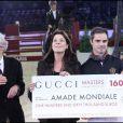 Samedi 4 décembre, le Gucci Masters 2010 a eu droit à un formidable spectacle, plein de fantaisie et d'humour. Charlotte Casiraghi en a été l'une des protagonistes ; sa mère Caroline de Hanovre a reçu un généreux chèque pour l'Amade.