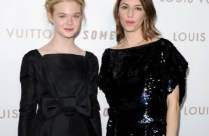 La jolie Elle Fanning rivalise de beauté avec Elodie Bouchez et Sofia Coppola...