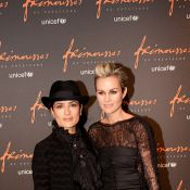 Laeticia Hallyday dévoile sa jolie frimousse avec son invitée, Salma Hayek !
