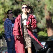 Kate Walsh : en peignoir et pyjama en pleine rue !