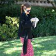 Kate Walsh sur un tournage à Los Angeles au début du mois de décembre 2010