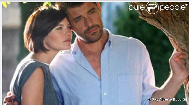 Delphine Chanéac et Thierry Neuvic  pour L'amour vache (M6)