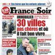 France Soir, la Une du 15 décembre 2010.