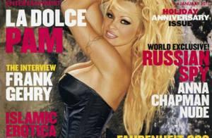 Pamela Anderson : Retour sur 20 ans d'effeuillage dans Playboy !