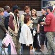 Woody Harrelson sur le tournage de Seven Pounds