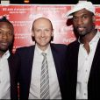 William Gallas, Christian Polge, Pascal Gentil