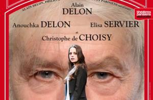 Quand le grand Alain Delon met sur orbite sa fille, Anouchka Delon...