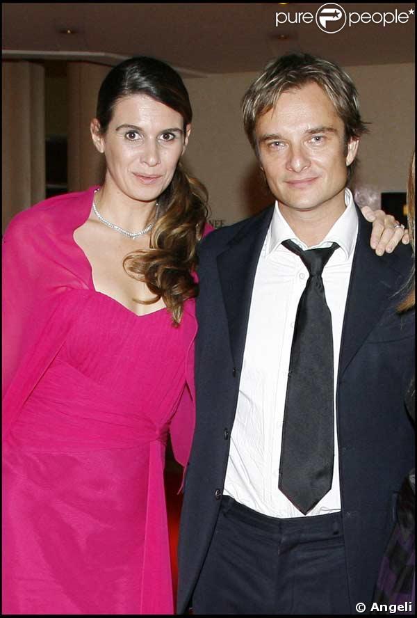 David Hallyday et sa femme Alexandra