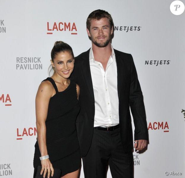 Chris Hemsworth et Elsa Pataky en septembre 2010 à Los Angeles