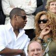 Beyoncé et Jay-Z en juin 2010 lors de la finale de Roland-Garros
