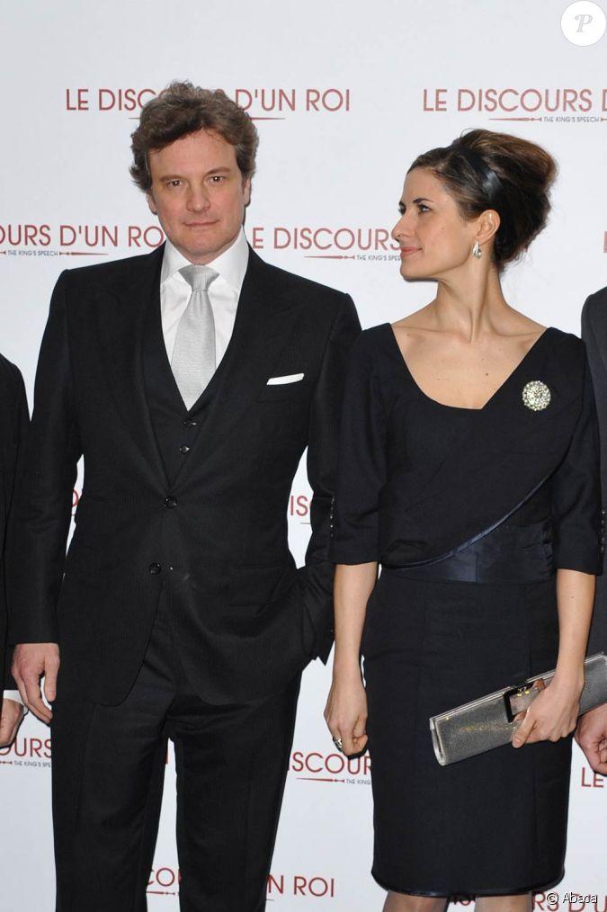 Colin Firth et sa femm...