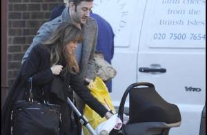 Rachel Stevens et son mari : Première sortie depuis la naissance de leur fille !
