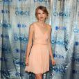 Taylor Swift lors de la cérémonie des People's Choice Awards le 5 janvier à Los Angeles