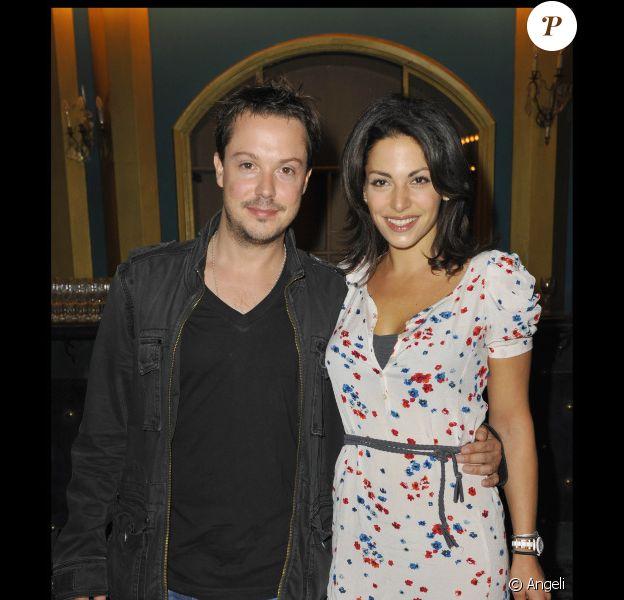 Davy Sardou et Noémie Elbaz en juin 2010.