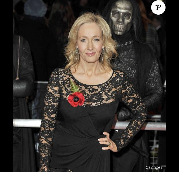 L'auteur de Harry Potter, J.K. Rowling