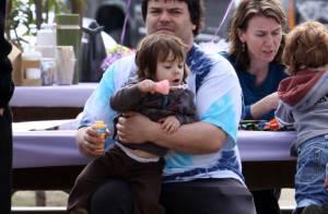 Jack Black : avec ses enfants, il est le plus attendrissant des papas géants !