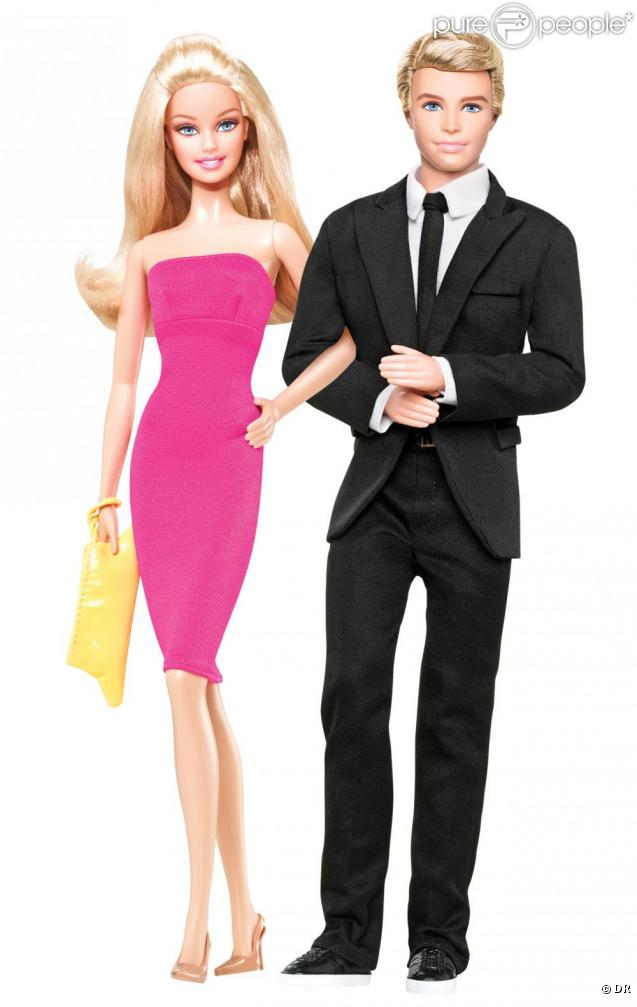 Ken et Barbie en 2010.
