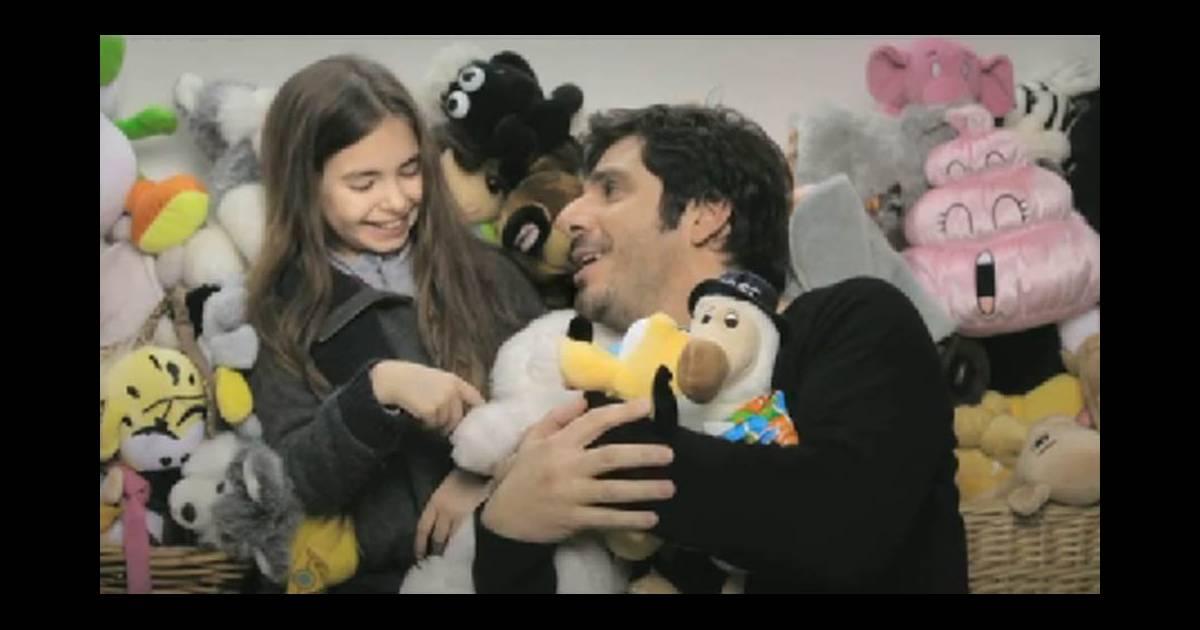 patrick fiori un papa qui sillustre dans le clip de linstinct masculin - Patrick Fiori Mariage Photo Ariane