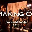 """""""Making off de la pub France Mutuelle avec Michel Delpech - Janvier 2011"""""""