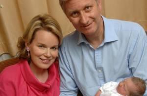 PHOTOS : Le Prince Philippe de Belgique et sa femme vous présentent leur fille Eléonore