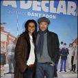 Karine Silla et Vincent Perez lors de l'avant-première de Rien à déclarer au cinéma Pathé d'Ivry-sur-Seine le 24 janvier 2011