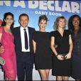Yaël Boon, Dany Boon, Julie Bernard, Karin Viard, Nadège Beausson Diagne lors de l'avant-première de Rien à déclarer au cinéma Pathé d'Ivry-sur-Seine le 24 janvier 2011
