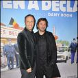 Arthur et Michaël lors de l'avant-première de Rien à déclarer au cinéma Pathé d'Ivry-sur-Seine le 24 janvier 2011