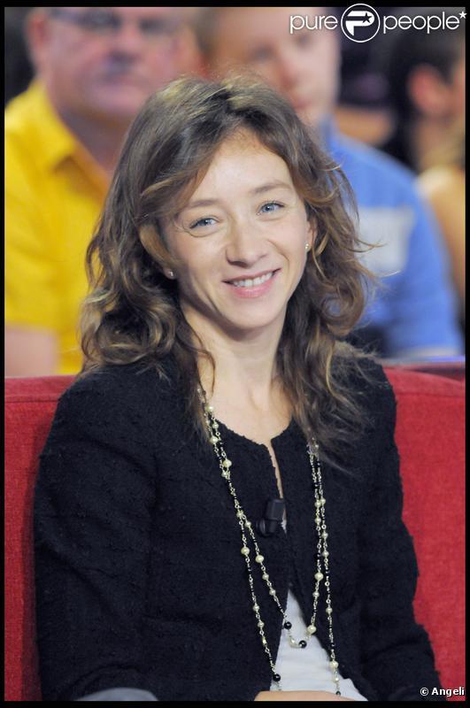L'actrice Sylvie Testud