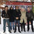 Le Jury Courts-Métrages du Festival du film fantastique de Gérardmer, le 29 janvier 2011 - ici Raphaël Personnaz, Mohamed Mazouz, Kim Chapiron, Catherine Hosmalin et Thomas Ott