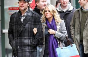 Carrie Underwood : La ravissante jeune mariée se détend avec son amoureux...