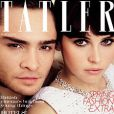 Ed Westwick et Felicity Jones en couverture du magazine Tatler