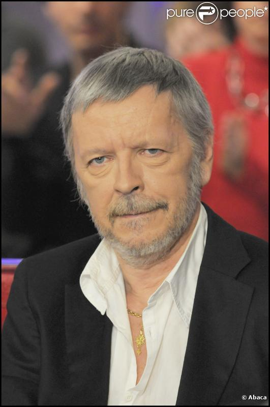 Le chanteur Renaud
