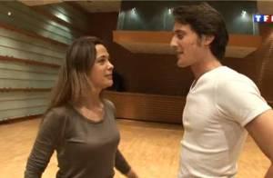 Danse avec les stars : Quand V. Cerutti et S. Quétier s'essaient à la danse !
