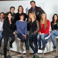 Le casting des Mystères de l'Amour au grand complet, nouvelle fiction diffusée sur TMC à partir du samedi 12 février à 16h45.