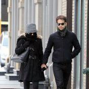 La belle Natalie Portman, enceinte, se promène avec son futur mari...