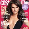 Lea Michele en couverture de Cosmopolitan, mars 2011