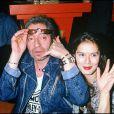 Serge Gainsbourg et Bambou en 1988