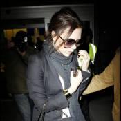Victoria Beckham : Enceinte, elle mise tout sur son look et... son époux David !