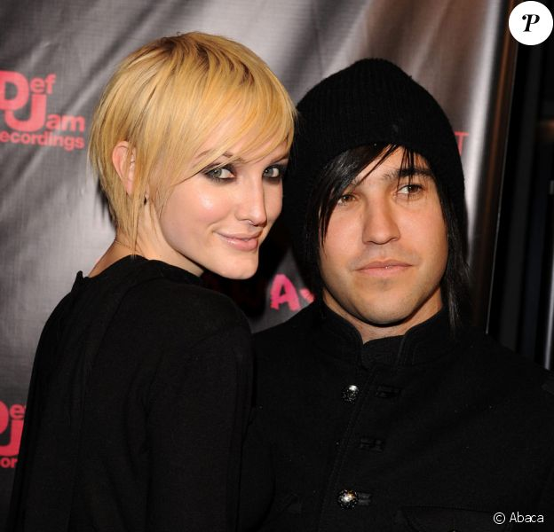 Ashlee Simpson et Pete Wentz le 18 octobre 2010