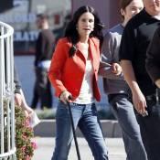 Courteney Cox : Même handicapée, elle assure au boulot !