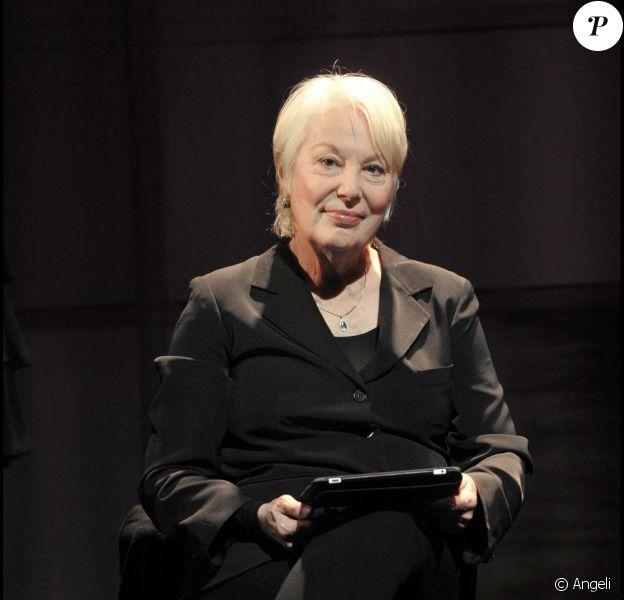 Bernadette Lafont, Théâtre Marigny, le 6 janvier 2011