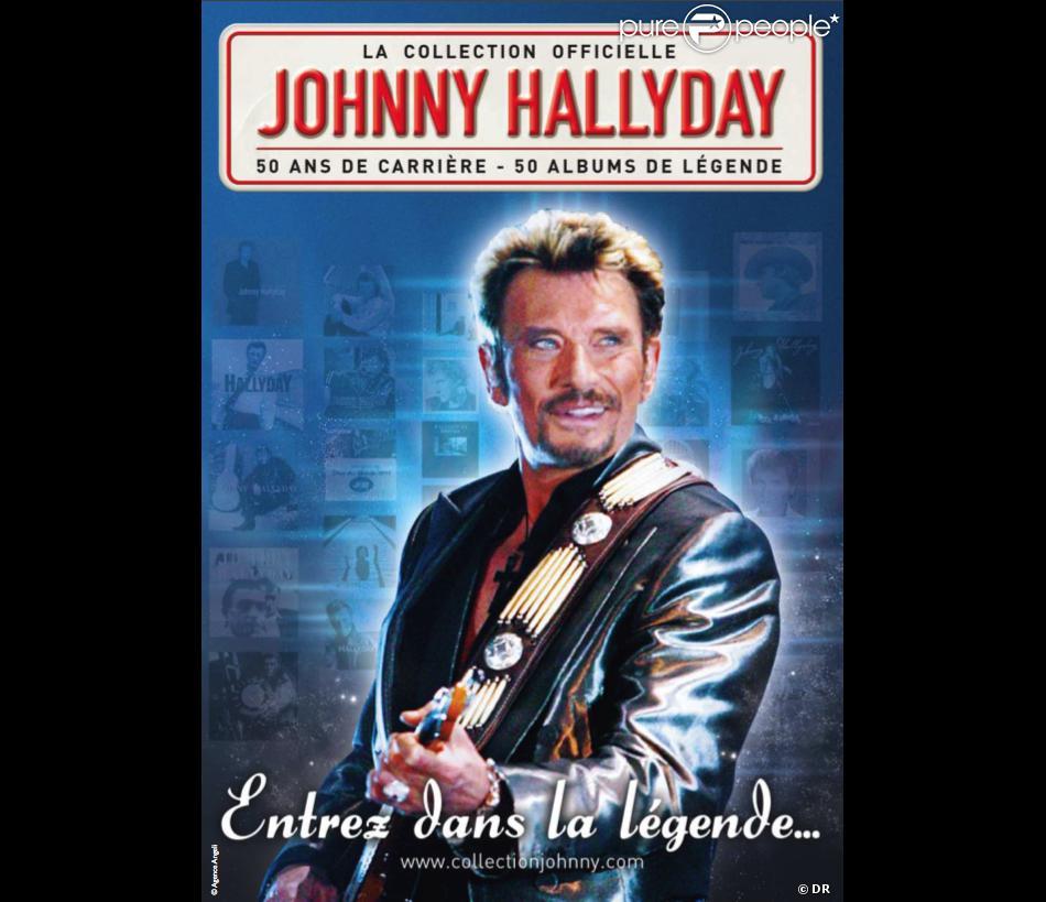 la collection officielle johnny hallyday partir du 14 f vrier 2011 dans les kiosques. Black Bedroom Furniture Sets. Home Design Ideas