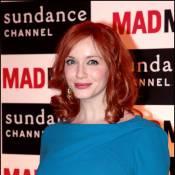 Christina Hendricks : Après les Mad Men, elle séduit une... bad girl !
