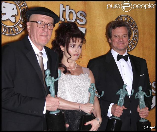 Colin Firth, Helena Bonham Carter et Geoffrey Rush déjà honorés aux Guild Awards