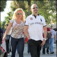 Ice-T et sa femme Coco en vadrouille à Miami, le 13 février 2011