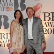 Boris Becker, fou de sa femme, aux côtés du séduisant Lewis Hamilton !