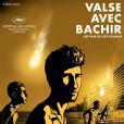 L'affiche du film Valse avec Bachir d'Ari Folman