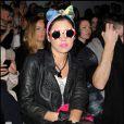 Marina Diamandis au défilé Ashish lors de la Fashion Week de Londres, le  22 février 2011.