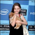 Abigail Breslin en 2006 à l'occasion de la promotion de Little Miss Sunshine